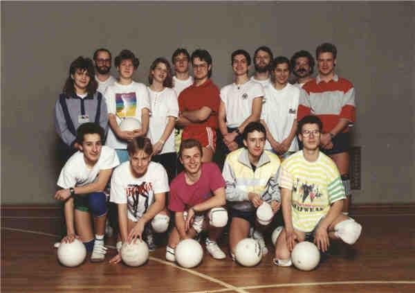 Volleyballer 1991